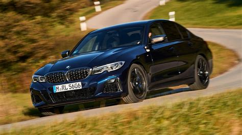 bmw mi xdrive review  litre turbo saloon tested