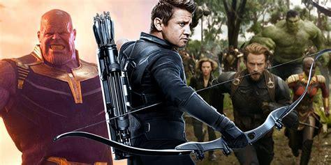 Avengers Infinity War Trailer Crops Out Hawkeye