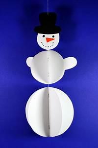 Basteln Winter Kinder : plastischen schneemann basteln kinderspiele ~ Frokenaadalensverden.com Haus und Dekorationen