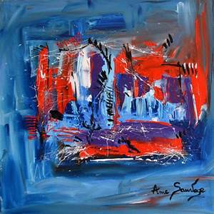 tableau abstrait pas cher amesauvage With couleurs chaudes et couleurs froides 2 tableau abstrait pas cher amesauvage
