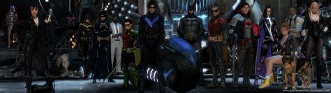 Batman Family Wallpaper Wallpapersafari