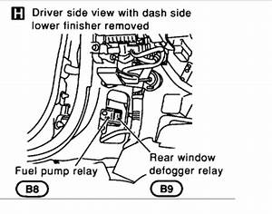 Cannot Locate The Fuel Pump Relay  Engine Performance