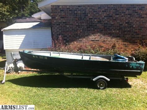 V Hull Fishing Boat For Sale by Armslist For Sale 14 Aluminum V Hull Jon Boat For Sale