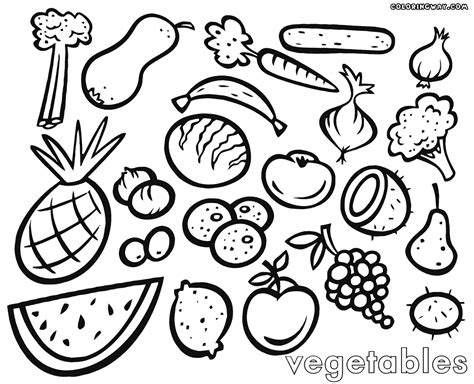 vegetables coloring pages coloring pages