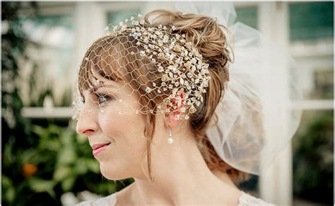 Bridal Gold Filled Birdcage Veil With Gold Plated Spray Roses And Swarovski Wedding Bands Prouds Tiffany Mermaid Dress Workout Kerry Updos For Long Hair With Bangs India Traditional Side