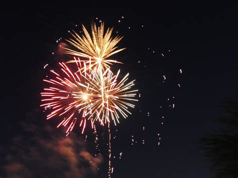 images glowing night firework celebration
