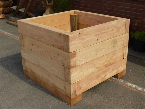 Plans For Planter Box tree planter made using locally sourced wood treestation