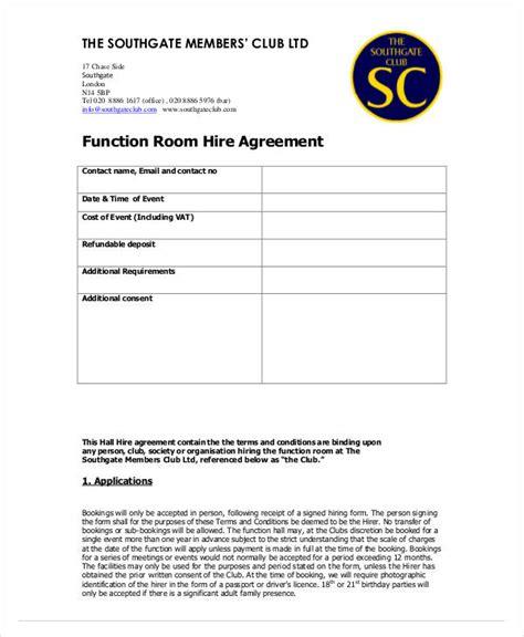 hire agreement templates  premium templates
