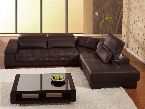Divano In Pelle Grigio Scuro : Decorative Laminate Flooring
