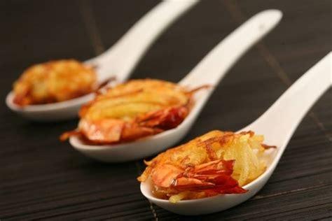 cours de cuisine aix en provence recette de gambas croustillantes en robe de pomme de terre