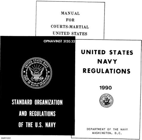 Summaries And Excerpts From Navy Regulations