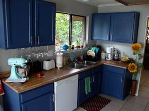 navy and white kitchen decorating ideas blue gray kitchen With kitchen colors with white cabinets with flying swallows wall art
