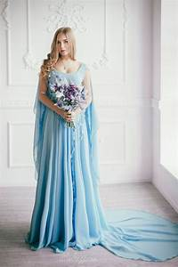26 serenity blue wedding dresses that inspire weddingomania With sky blue wedding dress