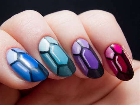 Nail Art :  Precious Gems Nail Art Inspired By The Ring And