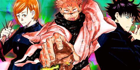 jujutsu kaisen character guide whos    shonen jump anime