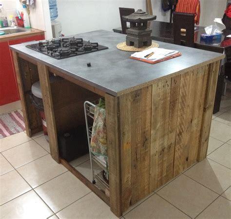 meuble de cuisine ilot central decoration cuisine ilot