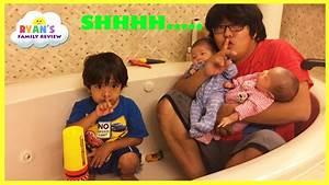 Kid Plays Hide N Seek with Twins baby sisters! Family Fun ...
