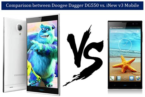comparison review  inew   doogee dagger dg