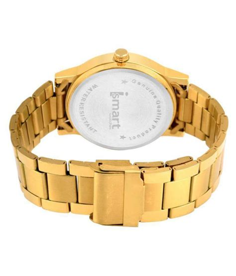 Ismart 00017 Stainless Steel Analog Men's Watch - Buy ...