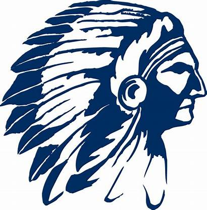 Chipola Indians Indian College Logos Head Mascotdb