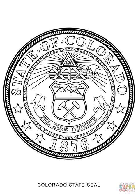 Montana State Symbols To Color