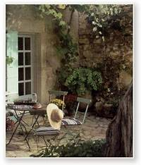 interesting french country patio decor ideas french country landscape design ideas   French Country Garden Decorating Photograph   Outdoor ...