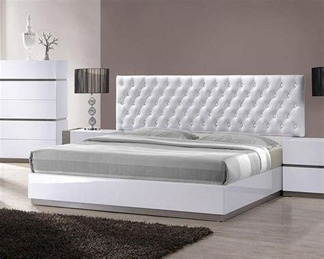 White Tufted by Modern White Tufted Bed 44b178bd