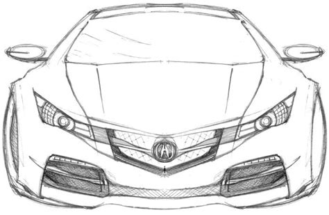 sport cars acura coloring page fast sports cars sport