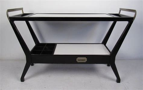 mid century bar cart from baker furniture at 1stdibs