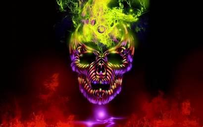 Skull Wallpapers Purple Dark Windows Skulls Background