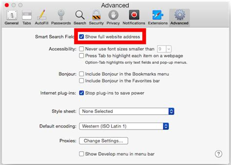 How To Show The Full Website Url In Safari For Mac Os