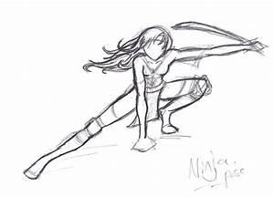 ninja pose - Recherche Google | Corps et postures ...