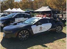 LAPD BMW i8 als PolizeiAuto in Los Angeles vorgestellt