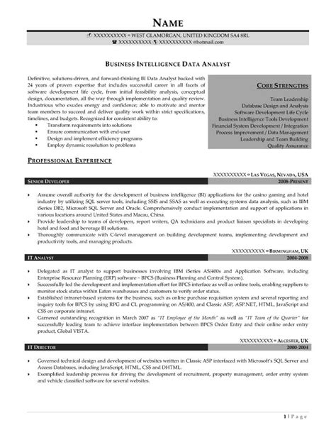 Intelligence Analyst Resume Exles by Professional Resume Sles Resume Prime