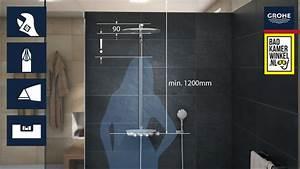 Grohe Smartcontrol 360 Duo : installatie van de grohe rainshower systeem smartcontrol 360 duo douchesysteem youtube ~ Yasmunasinghe.com Haus und Dekorationen