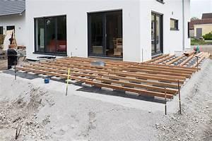 Unterkonstruktion Terrasse Holz : terrasse holz verlegen abstand ~ Whattoseeinmadrid.com Haus und Dekorationen