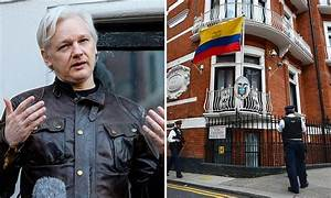 Russian diplomats 'hatched plot to extract Julian Assange ...