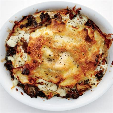 mushroom  burrata lasagnette recipe epicuriouscom