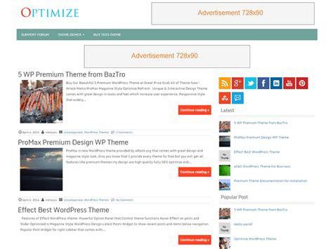 10 Free Adsense Optimized Wordpress Themes 2017
