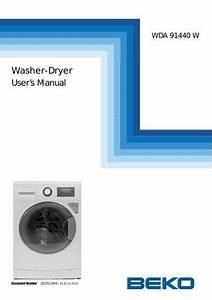 Beko Wda 91440 W Washer Dryer