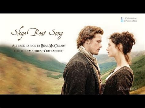 Skye Boat Song Letra Espa Ol by 吟遊詩人芒果 喜歡 Skye Boat Song Title Theme To Outlander