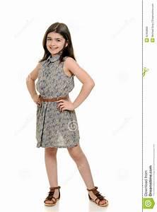 petite fille dans la jolie robe d39ete photo stock image With jolie robe d été