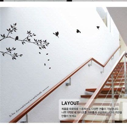 wall stickers stairs apartment stairs   wall