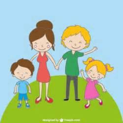 Cartoon Families Drawings