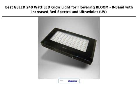 g8 led grow light g8 led 240 watt led grow light for flowering bloom 8 band