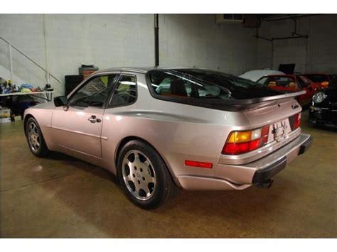 porsche 944 silver double take 1988 porsche 944 turbo s silver rose german