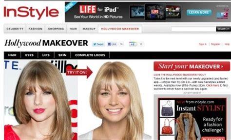 websites  virtual hairstyles