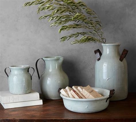 marlowe ceramic vase collection pottery barn