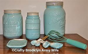 Crafty, Brooklyn, Army, Wife, I, Won, The, World, Market, Mason, Jar, Kitchen, Decor, Giveaway