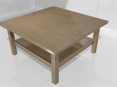 D Hemnes Coffee Table Model
